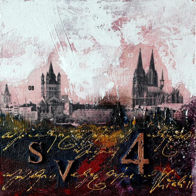Bild Kölner Dom abstrakt von Vittorio Vitale